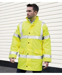Personalised Motorway Coat RS218 Hi-Vis Result