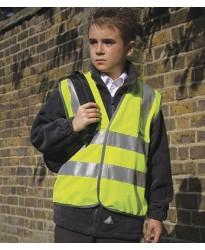 Personalised Hi-Vis Vest RS21B Kids Safety Result