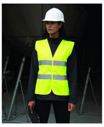 Personalised Hi -Vis Vest RS334F Ladies Result