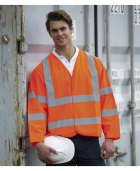 Personalised Motorway Coat HV75 Hi-Vis RTY 130 GSM