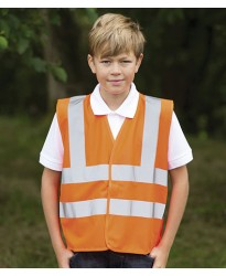 Personalised Kids Hi-Vis Vest HV77 High Visability RTY