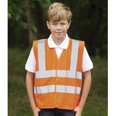 Personalised Kids Hi-Vis Vest HV77 High Visability RTY
