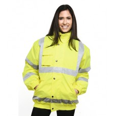 Personalised Bomber Jacket  UC804 High Visibility Uneek