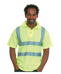 Personalised Polo Shirt  UC805 Hi-Viz Uneek
