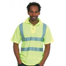 Personalised Polo Shirt  UC805 Hi-Viz Uneek