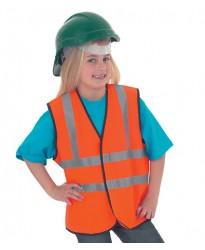 Personalised Waist Coat UC806 Childrens Hi-Viz Uneek