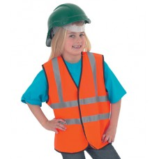 Personalised Waist Coat UC806 Childrens Hi-Viz Uneek