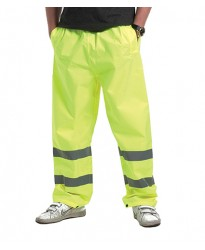 Personalised Trouser UC807 Hi-Viz Uneek