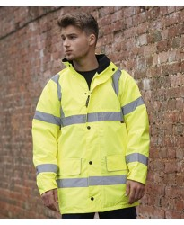 Personalised Jacket WR005 Nevada Hi-Vis Warrior  GSM