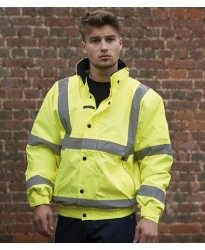 Personalised Bomber Jacket WR006 Memphis Hi-Vis Warrior