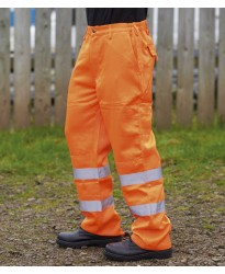 Personalised Trousers WR015 Delray Hi-Vis Warrior