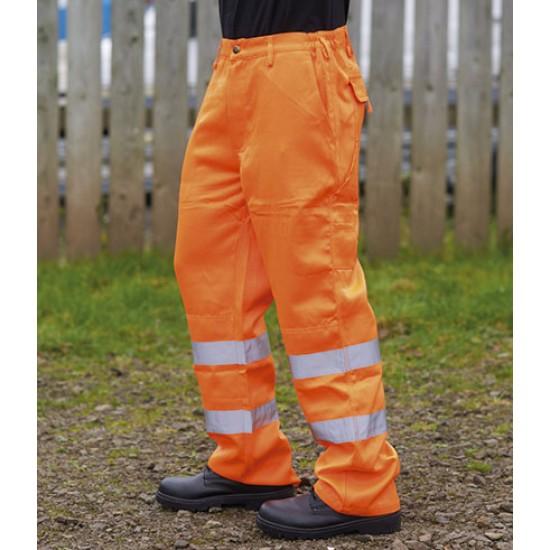 Personalised Trousers WR015 Delray Hi-Vis Warrior
