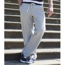 Personalised Open Hem Track Pants FR600 Front Row 330 GSM