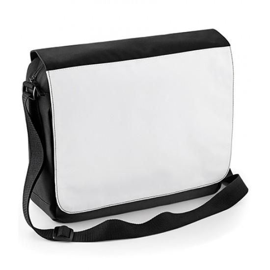 Personalised Messenger Bag Messenger Bag BagBase