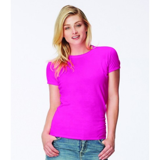 Personalised Ladies Fitted T-Shirt CM101F Comfort Colors 163 GSM