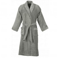 Terry Charcoal Grey Bathrobe