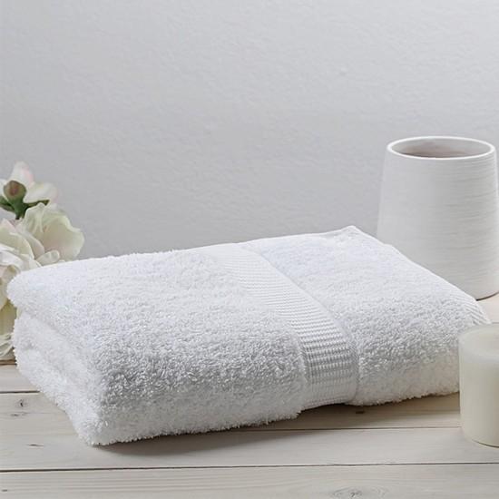 Christy 90 x 165 cm bath towel WHITE