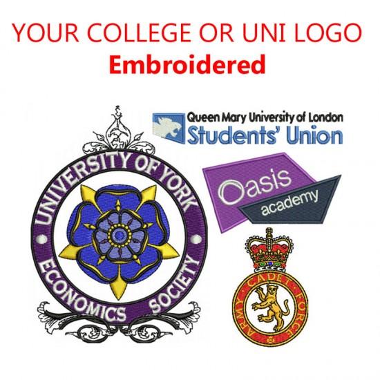 Personalised college & UNI lounge Onesies