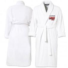 Your CUSTOM logo Embroidery on bathrobe