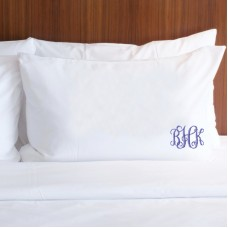 Personalised Prima custom monogram embroidery pillowcase covers