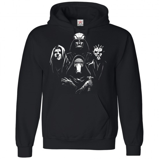 4 Faces Darth Hoodie