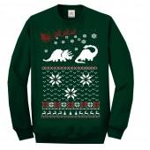 Styracosaurus Dinosaurs Christmas Ugly Jumper