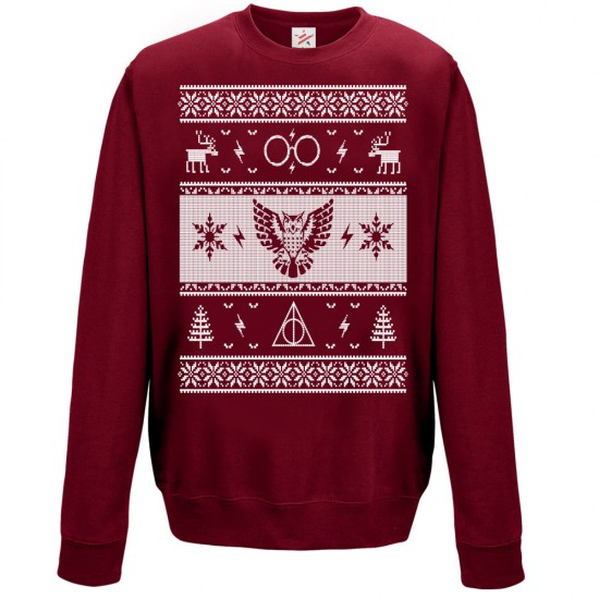 OWL Christmas Ugly Jumper