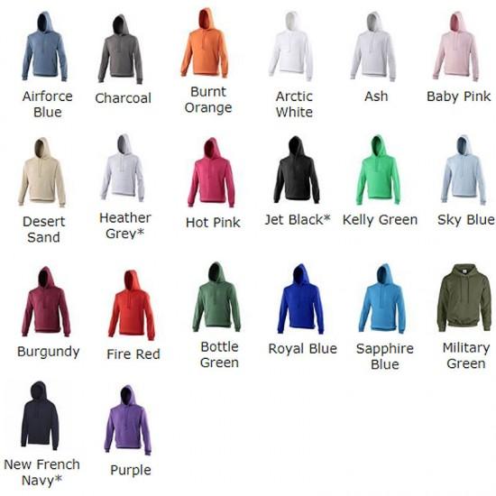 Plain Pullover Jumper Hood
