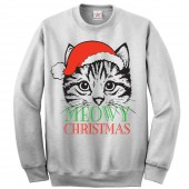 Cat Father Christmas Ugly Jumper