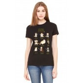 Cat WARS Ladies T Shirt