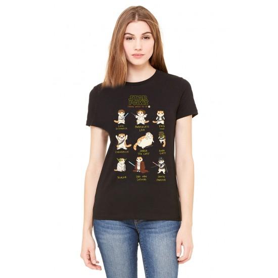 Cat WARS Ladies T Shirt