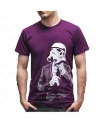 Corporate Trooper Purple T Shirt