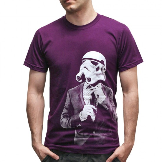 Corporate Trooper Purple T Shirt
