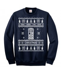 Doctor Christmas Ugly Jumper
