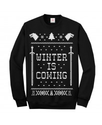 Winter is coming Christmas Ugly Jumper