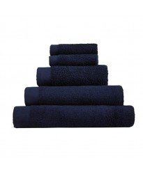 Egyptian Bath Size Midnight Navy Towel