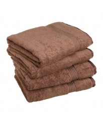 Egyptian Hand Size Mocha Towel