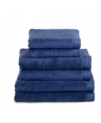 Egyptian Hand Size Midnight Navy Towel