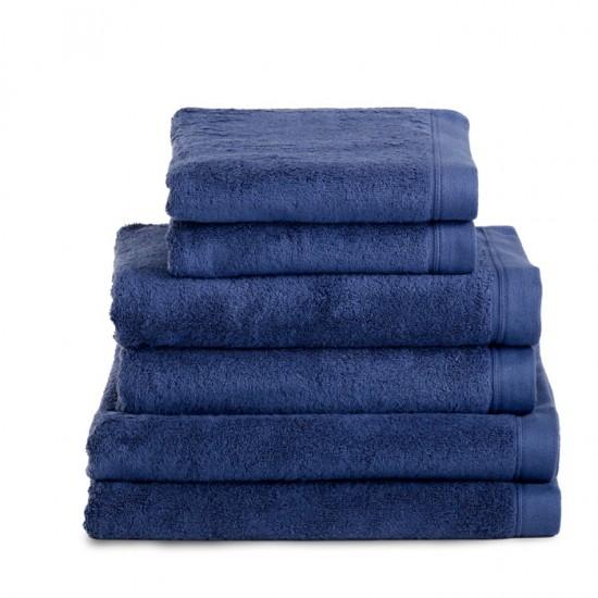 Egyptian Hand Size Midnight Navy Towel