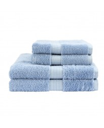 Egyptian Hand Size Soft Blue Towel