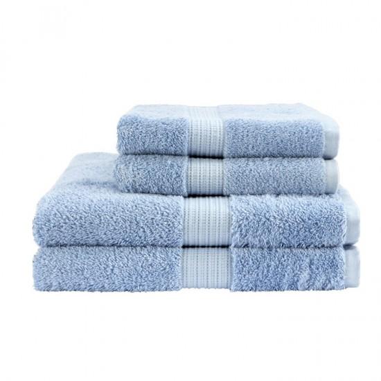 Egyptian Hand Size Soft Blue Towel