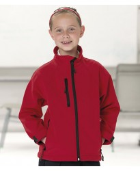 Personalised Jacket 140B Schoolgear Kids Soft Shell Jerzees