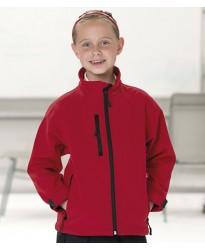 Personalised Jacket 140B Schoolgear Kids Soft Shell Jerzees