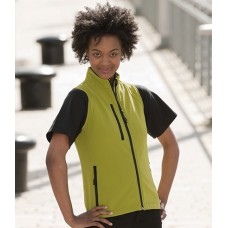Personalised Shell Gilet 141F Ladies Russell
