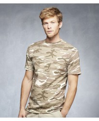 Personalised T-Shirt AV142 Camouflage Anvil 170 GSM