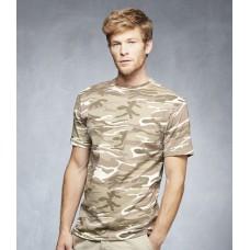 Personalised T-Shirt AV142 Camouflage Anvil 170 GSM