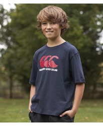 Personalised T-Shirt CN20B Kids CCC Logo Canterbury