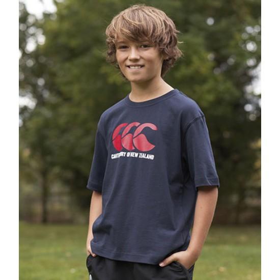 Personalised T-Shirt CN20B Kids CCC Logo Canterbury