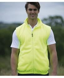 Personalised Fleece Gilet EV84 Enhanced Visibility  RTY