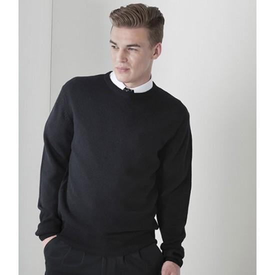 Personalised Sweater H735 Lambswool Crew Neck Henbury